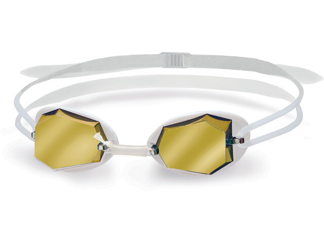 Head Diamond Mirrored Gafas, white - white - clear